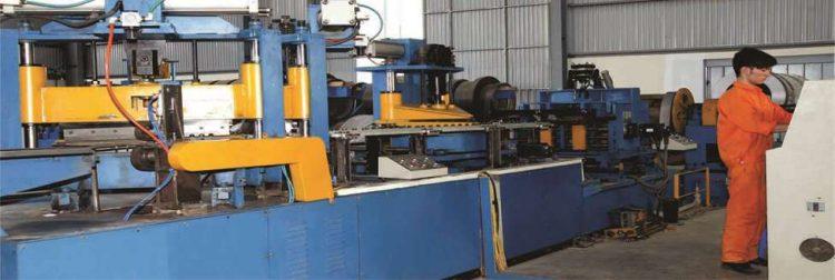 Tôn silic định hướng- máy cắt lõi máy biến áp