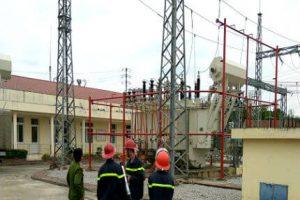 Máy biến áp 40mva đóng điện thành công