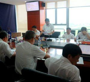 Công ty Điện lực Bắc Ninh báo cáo tại buổi làm việc