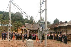 Công ty điện lực sơn la-Dự án điện nông thôn