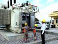 Máy biến áp T2 đóng điện thành công